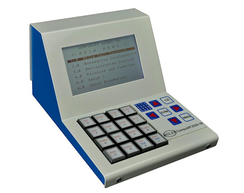 Compudiff 2000-16, manuell diffräknare